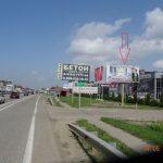 МТ-А 018 А Южный объезд, Тургеневское шоссе 1+200 (слева), автосалон Toyota, в Краснодар